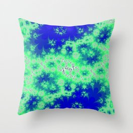whats your name, microbe population? Throw Pillow