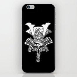 Samurai Kabuto - line iPhone Skin