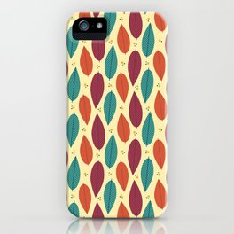 When the leaves come falling down iPhone Case