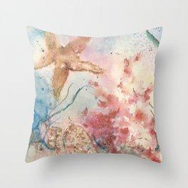 Jolie Etoile de Mer Throw Pillow
