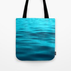 Water : Teal Tranquility Tote Bag