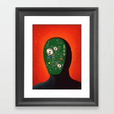 Robots Have Feelings Too Framed Art Print
