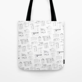 COVER, Contain, Compost - 3 of 3 Tote Bag