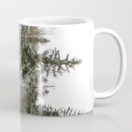Snowy trees in the French Alps Coffee Mug