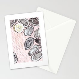 Oyster Love Stationery Cards