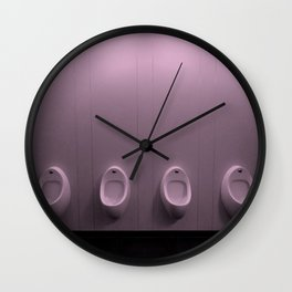 Urinal Wall Clock