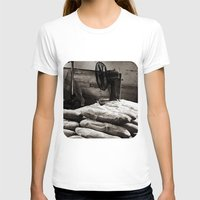 bread T-shirts featuring Bread  by Ethna Gillespie