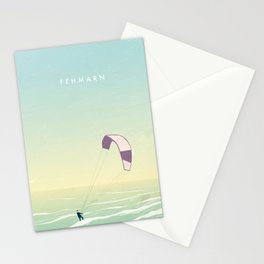 Kitesrfing Fehmarn Stationery Cards
