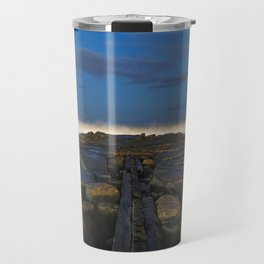 Cloudy Horizon Travel Mug