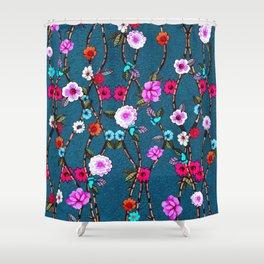 Spring Flowers Decò Shower Curtain