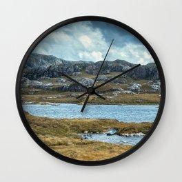 Wester Ross Landscape II Wall Clock