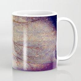 Galaxy + Nature Reflection Coffee Mug