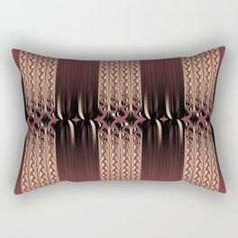 Red Velvet Rectangular Pillow