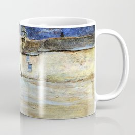 Helen Allingham - The Last House in Lynmouth - Digital Remastered Edition Coffee Mug
