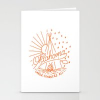oklahoma Stationery Cards featuring Oklahoma Pride by Christian Robinson