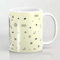 dreamer Mugs featuring Dreamer by Anya Volk