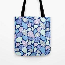 Glitter Fantasy Paisley Tote Bag