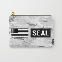 Seal (Arctic Camo) Carry-All Pouch