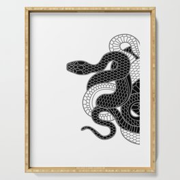 Snake Serving Tray