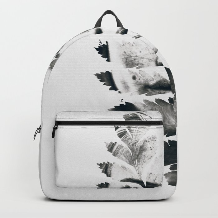 Portrait of woman(leaves) Backpack