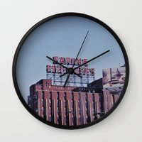 montreal Wall Clocks featuring MONTREAL by sylvianerobini