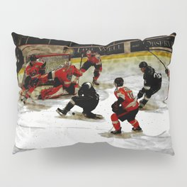 The End Zone - Ice Hockey Game Pillow Sham