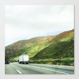 California mountains Canvas Print