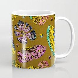 Bohemian Paradise on Mustard Coffee Mug