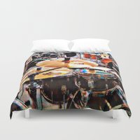 sale Duvet Covers featuring Music Sale by Andooga Design