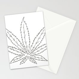 Cannabis Leaf Stationery Cards