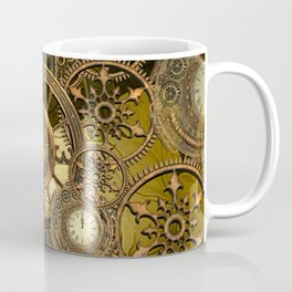 Steampunk, awesome clocks Coffee Mug
