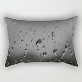 Raindrops, Kingston Ferry, WA Rectangular Pillow