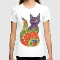 wonderland T-shirts featuring Wonderland by Heather Searles