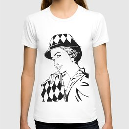 Casual 50's... (blak and white version) T-shirt