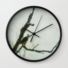Penetrating Gaze Wall Clock