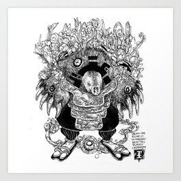 Mole Soul Art Print
