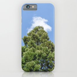 Cloudy Tree | Nature Collection | Tree | Travel Photography iPhone Case