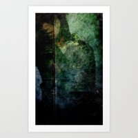 Burned Into Every Dream Art Print