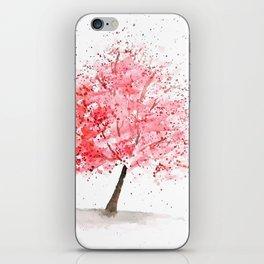 Kwanzan Cherry Tree iPhone Skin