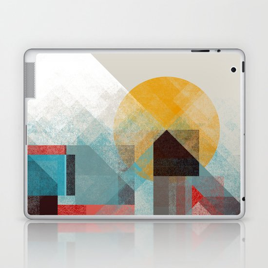Over mountains Laptop & iPad Skin