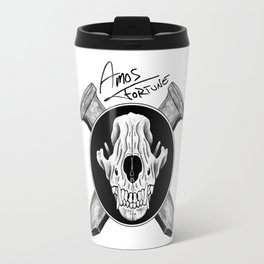 Amos Fortune Logo Travel Mug