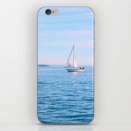 Blue Sailing iPhone Skin