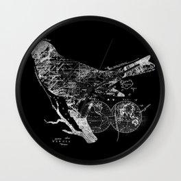Bird Wanderlust Wall Clock