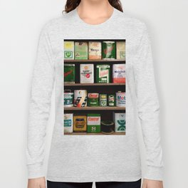 Old Cans Long Sleeve T-shirt