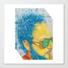 Ray Ban Man Canvas Print