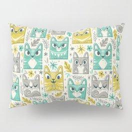Tiki Kitty Pillow Sham
