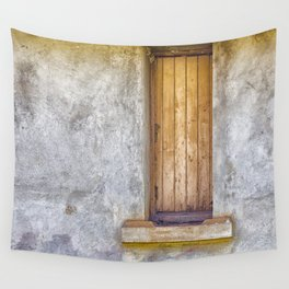 Old shuttered window Wall Tapestry