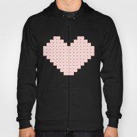 Heart X Red Hoody