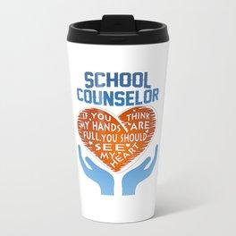 School Counselor Travel Mug