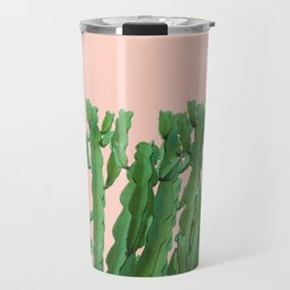 Italian Peach Cactus Travel Mug